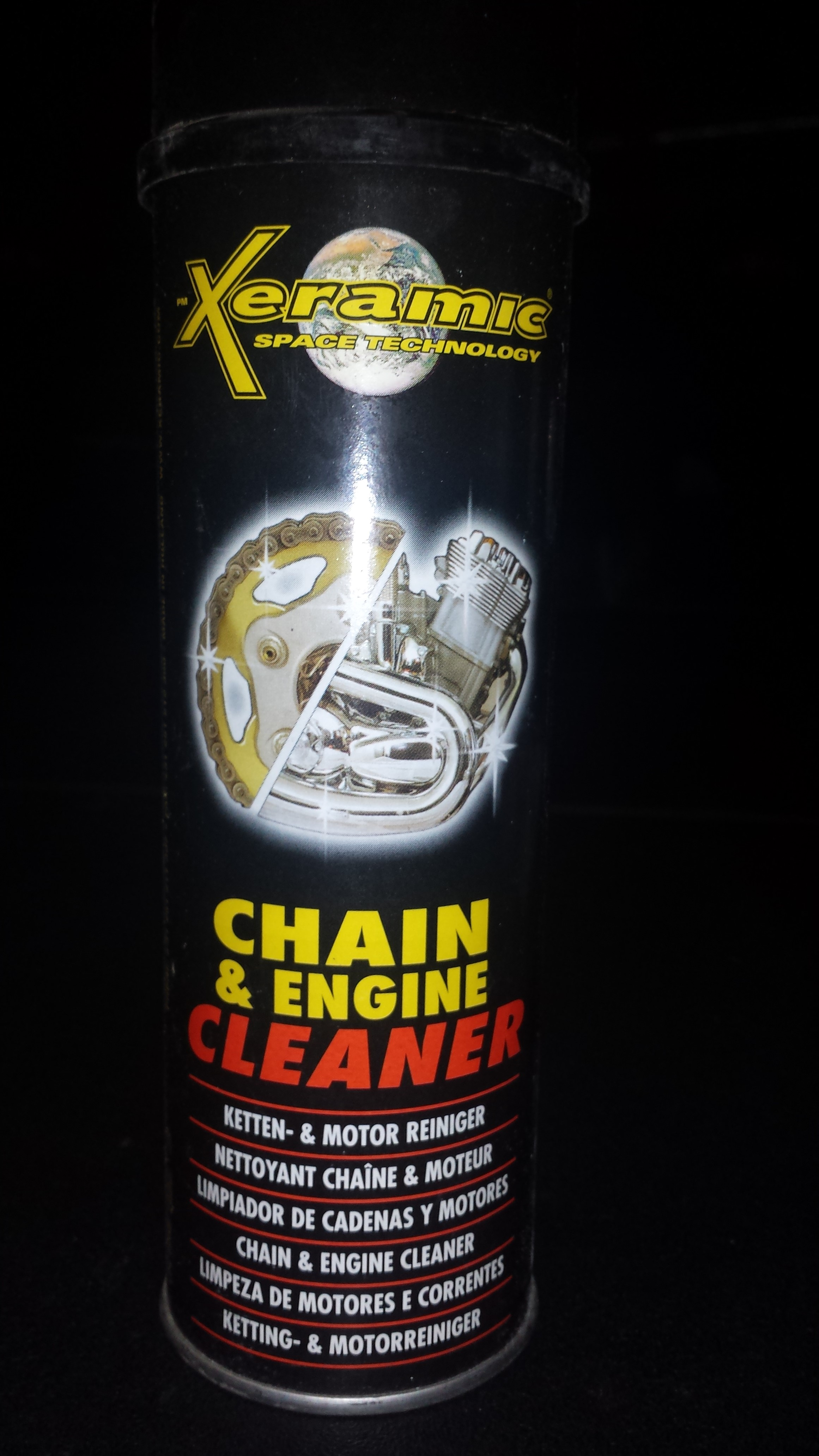 Ketting en motor cleaner