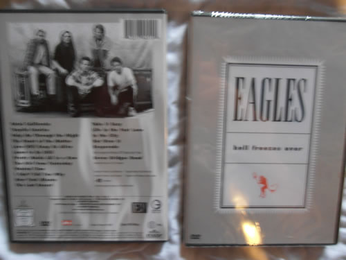 De nieuwe dvd van de eagles Hell freeses over